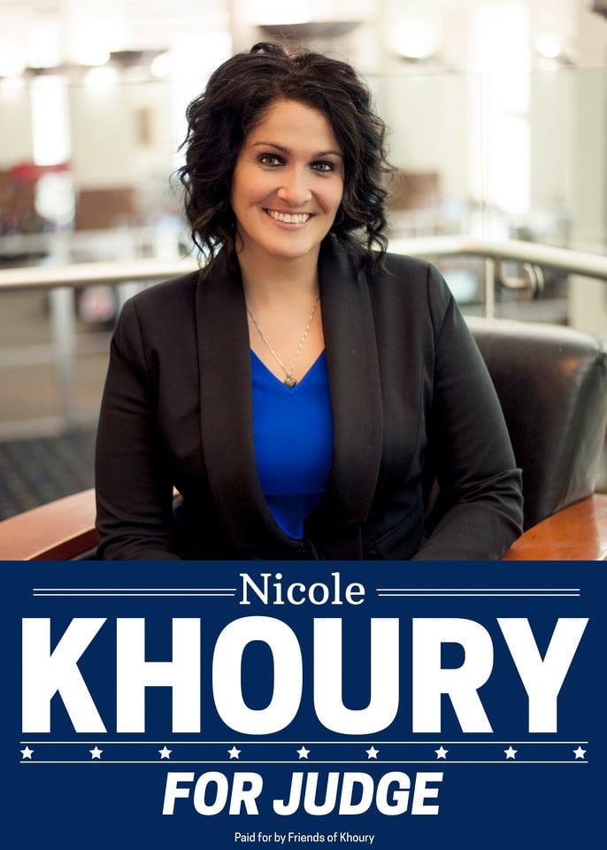 Nicole Khoury for Judge
